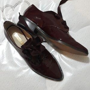 Louise et Cie Burgundy Oxford shoes size 6